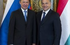 Alexey Miller, Gazprom Chairman (left) and Prime Minister Viktor Orbán - close ties.