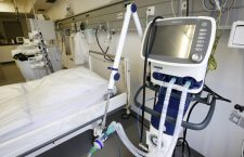 Hospital ventilator unit - total cost $30-40,000 per bed.