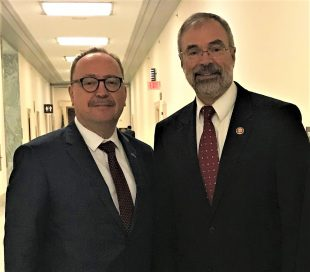 Mr. Zsolt Németh (left) and US Representative Andy Harris, Republican Co-Chair of the Hungarian-American Caucus in Congress