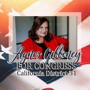 Hungarian-born Agnes Gibboney is running for US Congress in California