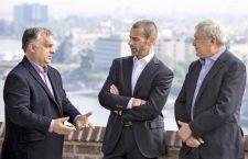 Orbán, Ceferin and Csányi